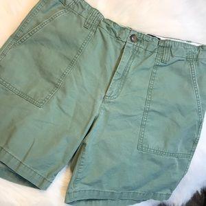 Gap Green Cargo Shorts